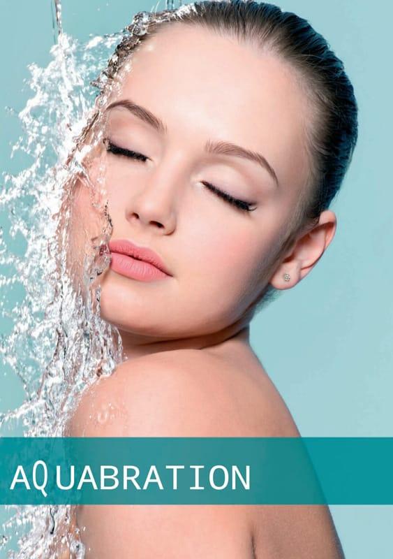 Aquabration - Tiefenreinigung mit Wasserdruck